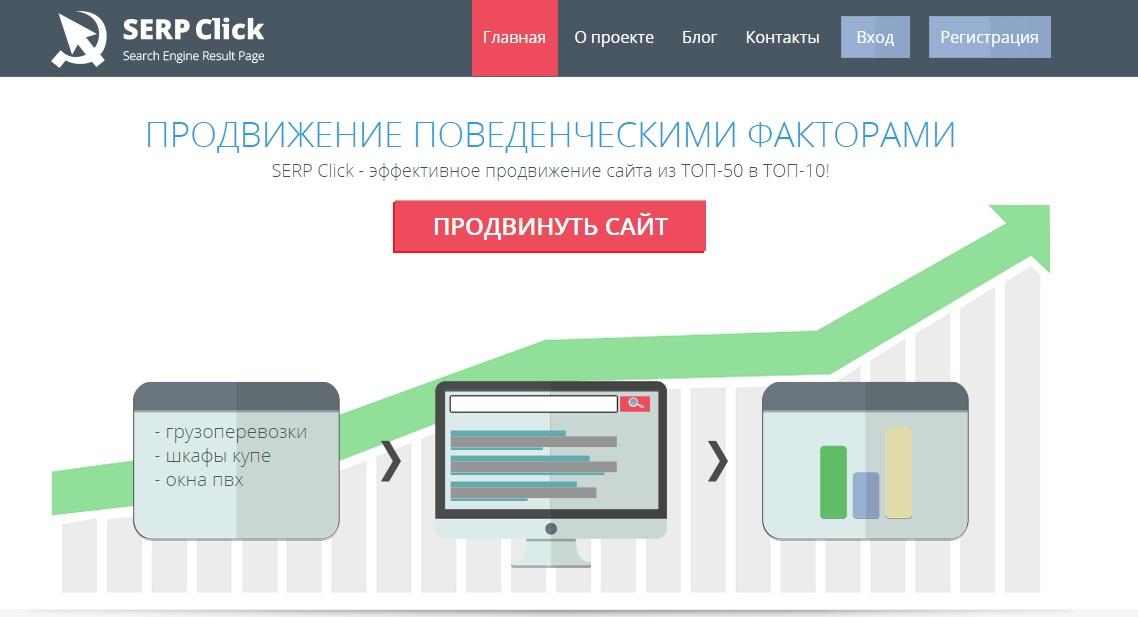 Продвижение поведенческими факторами программы для создания сайтов и игр